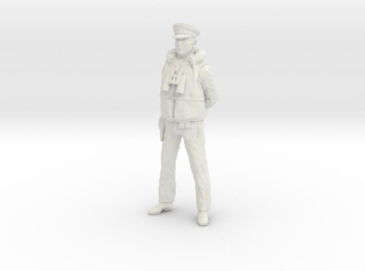 1/16 US Navy PT Boat Officer 1 3d printed