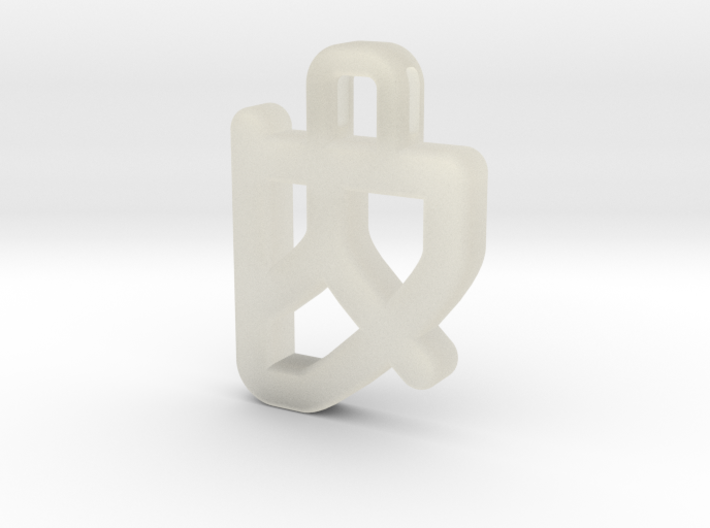 Darwen Heart lock Pendents XL 3d printed