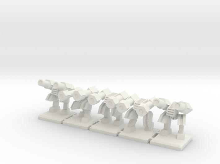 TA ARM Hammer Squad - 1cm tall 3d printed
