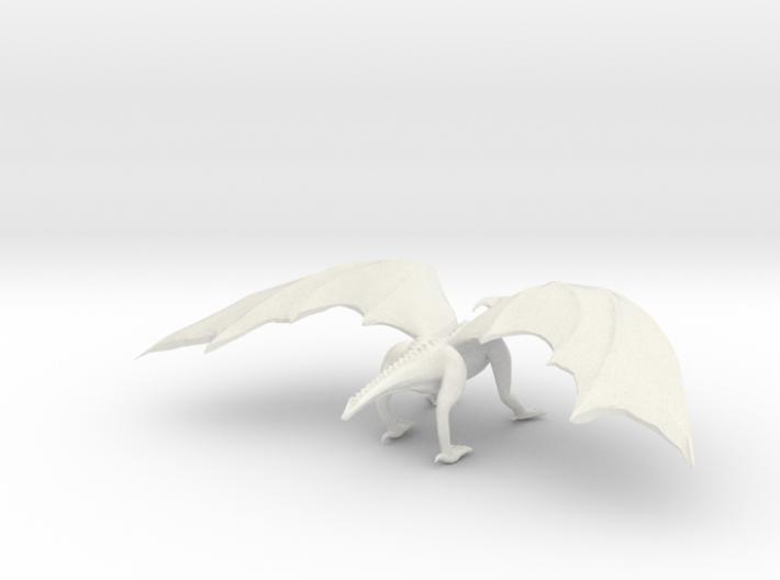 Noble Dragon 3d printed