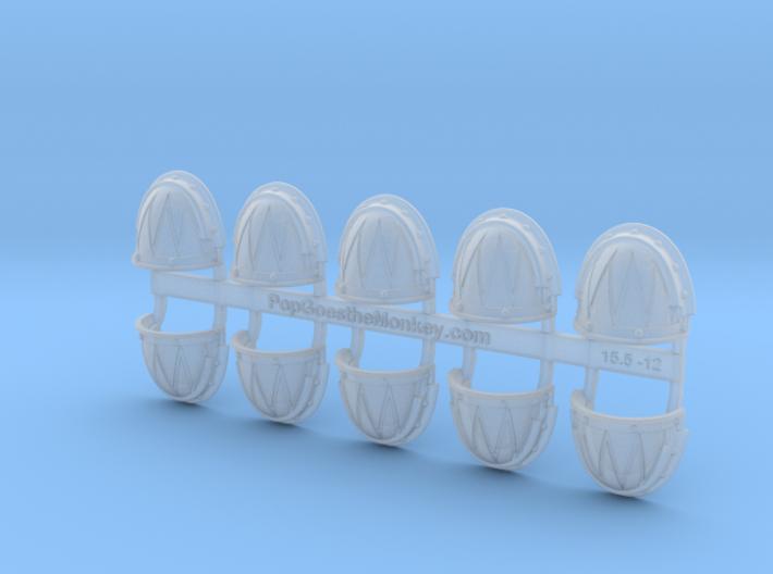Sawtooth 2 - Gen3:Iron Shoulder x10 3d printed