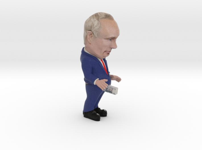 Putin Trump Train SM 3d printed