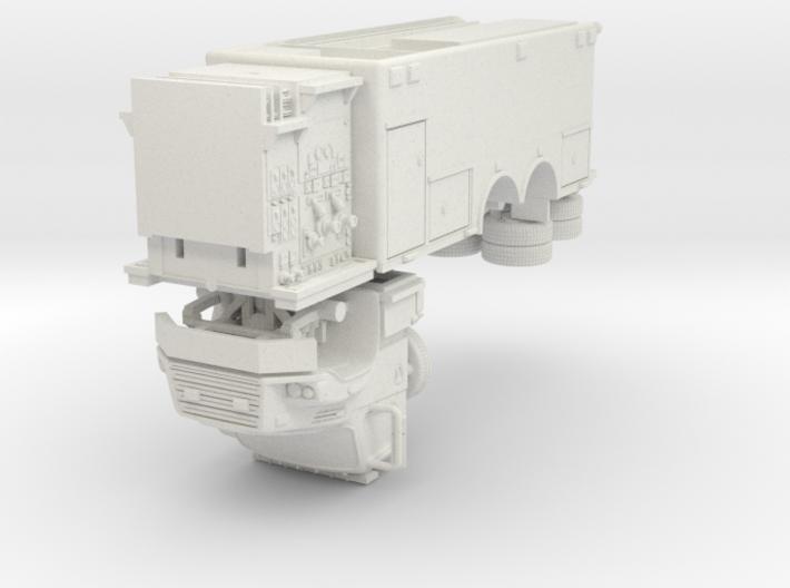 1/87 Bayonne, NJ Dept Spartan/ERV Foam Tender 3d printed