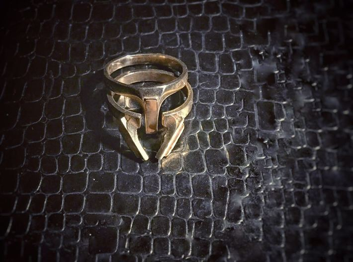 victory ring us size 8 3d printed