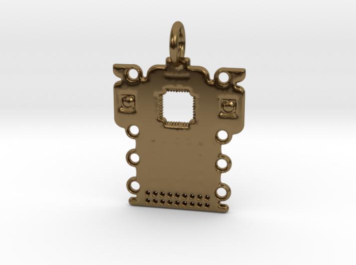 Electronics Pendant 3d printed