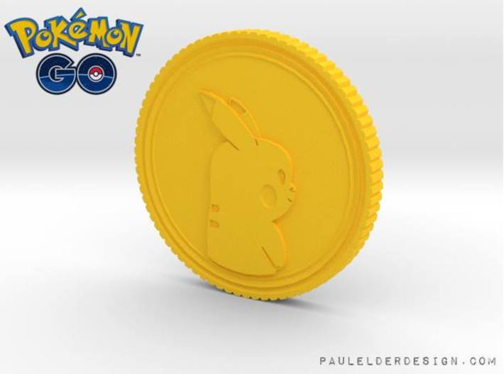 PokeCoin 3d printed
