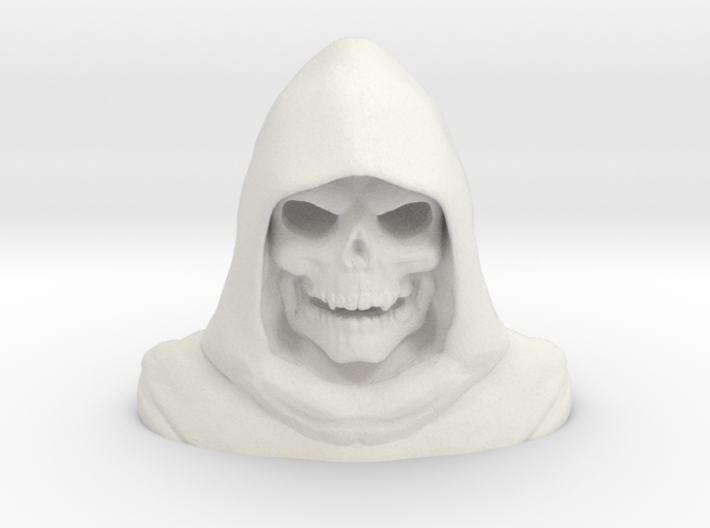 Skeletorbust 3d printed