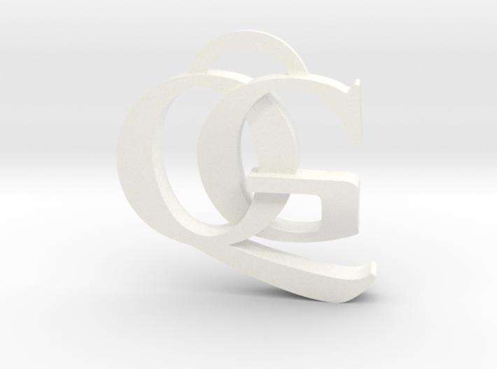 QG Keychain 3d printed