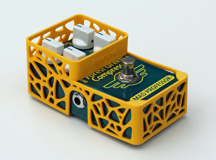 Mad Professor Factory 4 knobs pedal cover 3d printed