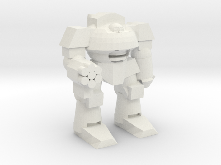 Cybernetic Super Soldier Walker 3d printed
