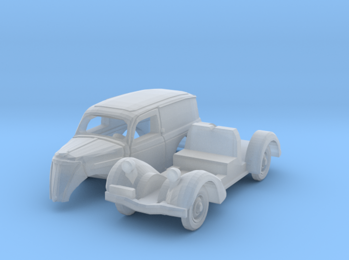 Ford Eifel Express (1/144) 3d printed