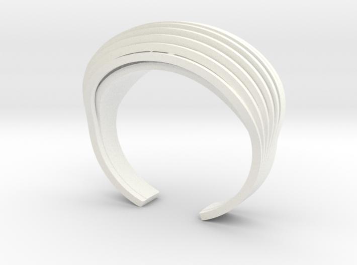 OvalBracelet 3d printed
