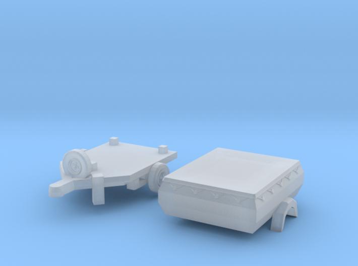 HP 350.01 mit Plane (N 1:160) 3d printed