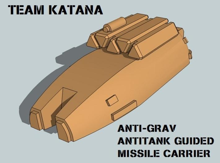 """Team Katana"" 3mm Anti-Grav Armor Sample Pack 3d printed"