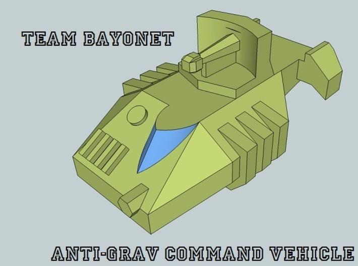 """Team Bayonet"" 3mm Anti-Grav Armor Sample Pack 3d printed"
