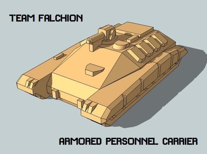 """""""Team Falchion"""" 3mm Sci-Fi Tracked APCs (24 Pcs) 3d printed"""