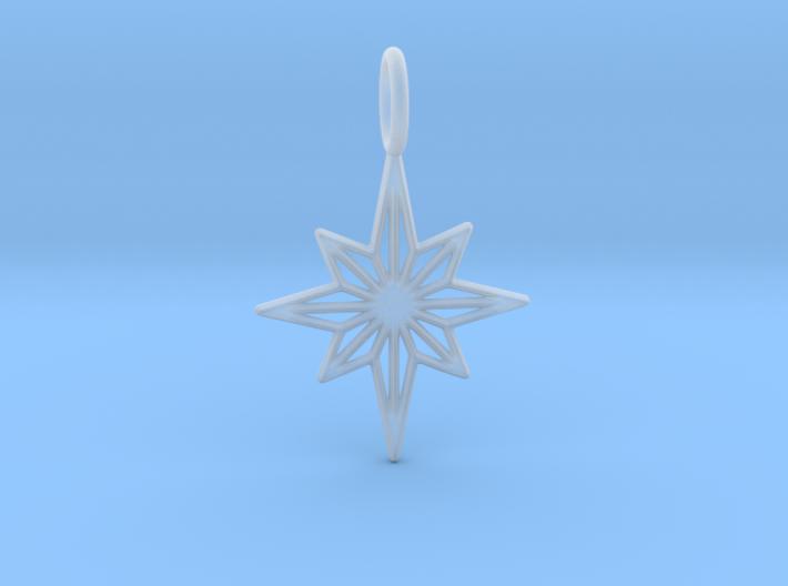 Star No.3 Pendant 3d printed