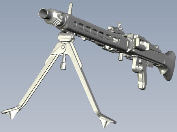 1/10 scale WWII Wehrmacht MG-42 machinegun x 1 3d printed