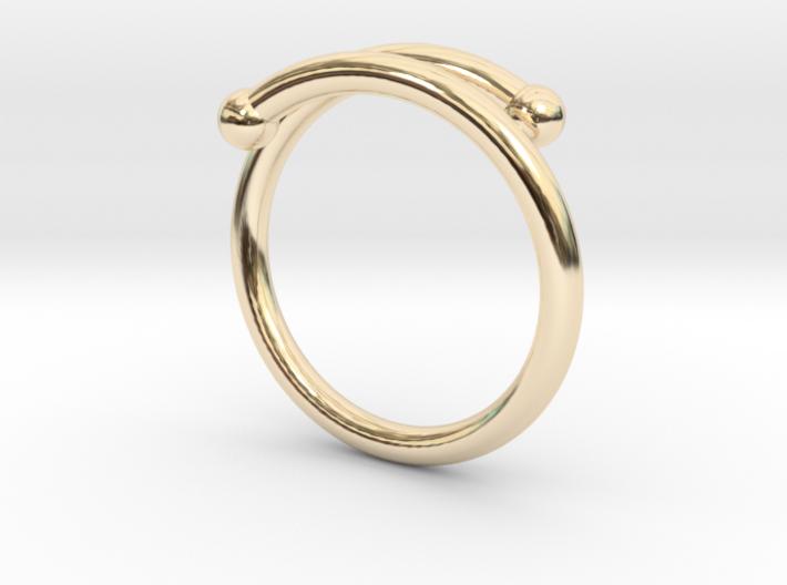 Spiral Mid Finger 3d printed