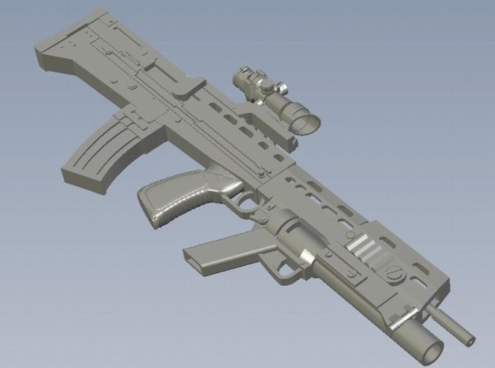 1/16 scale BAE Systems L-85A2 rifle x 1 3d printed