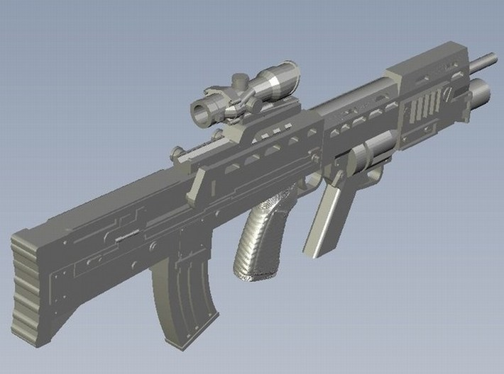 1/18 scale BAE Systems L-85A2 rifle x 1 3d printed
