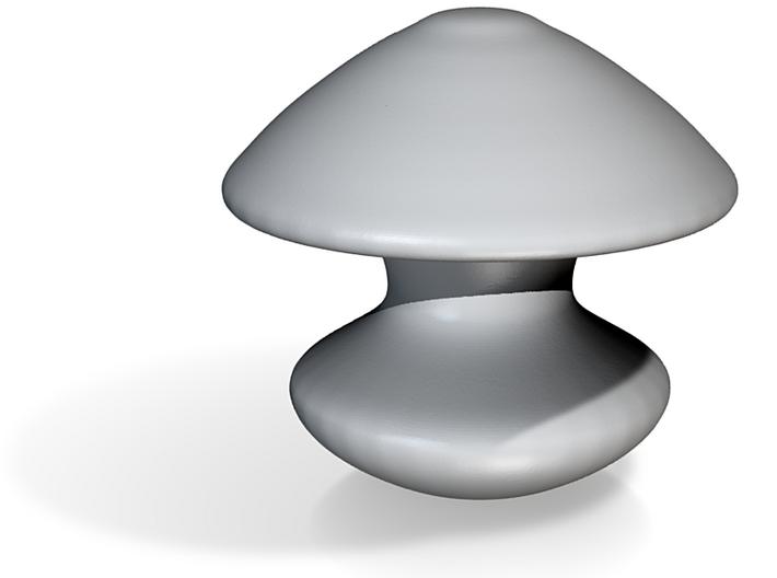 Porcelain Mushroom Head Plug 3d printed