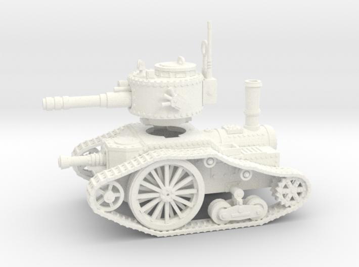 15mm Steampunk tank Mk.1 3d printed
