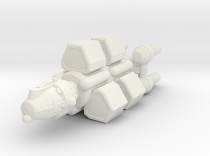 Belter Mining Boat 3d printed