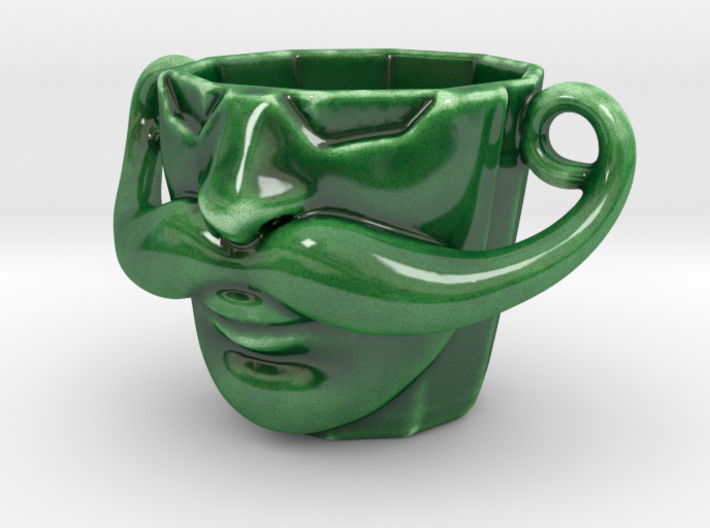 Curl Cup 3d printed