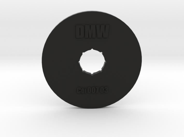 Clay Extruder Die: Coil 007 03 3d printed