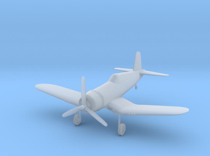 Vought F4U-1D Corsair - Zscale 3d printed