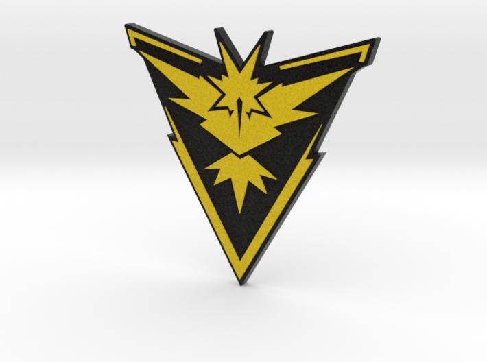 Pokemon Go - Team Instinct Badge 2 3d printed