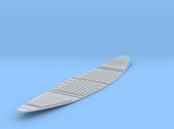 1/48 Wooden Floor for 26' Monomoy Surf Boat 3d printed