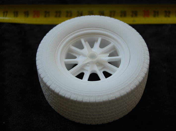 Cobra - Mustang Wheels And Tires 3d printed