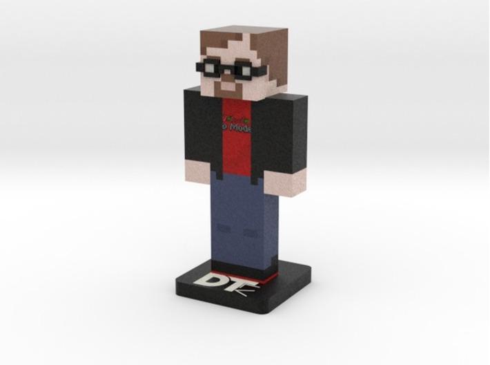 Custom MC Skin - Steve/Alex 3d printed