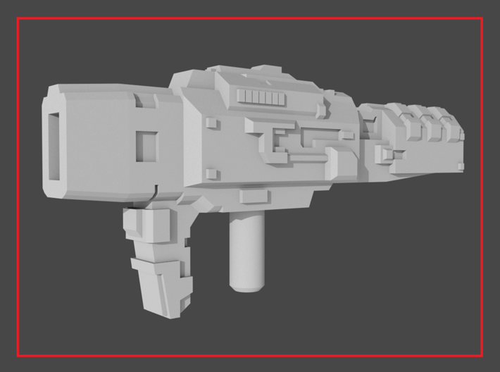 """HAMMERDOWN"" Transformers Weapon (5mm post) 3d printed"