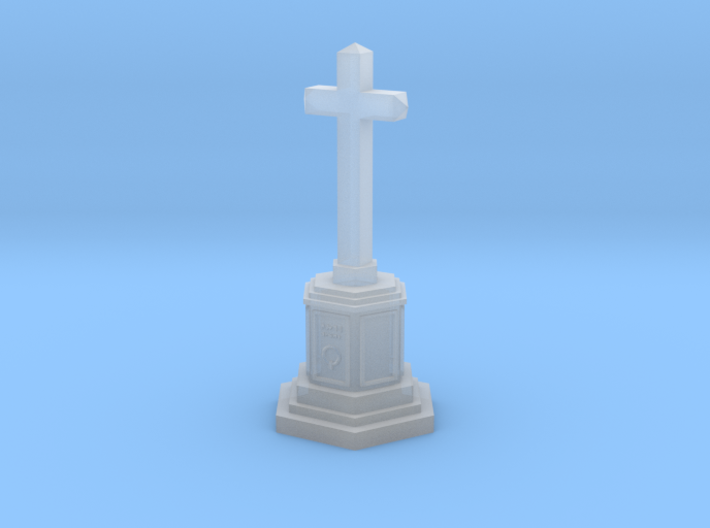 Cross memorial (TT 1:120) 3d printed
