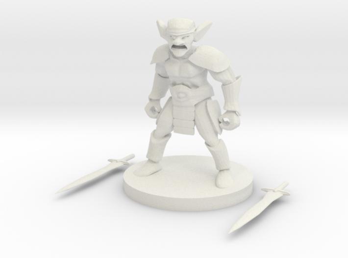 Goblin Barbarian 3d printed