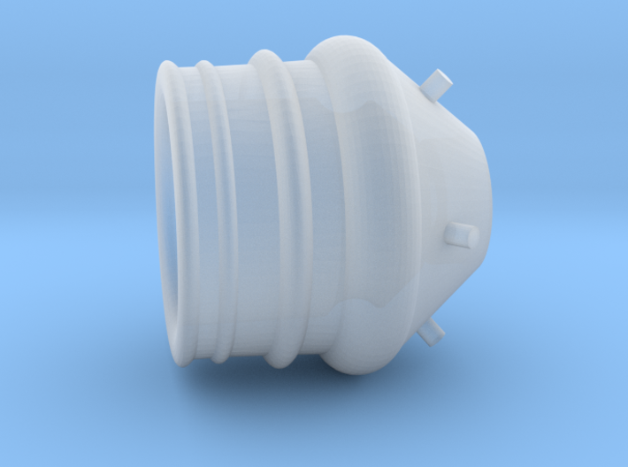 Roketeer fuel thruster small 3d printed