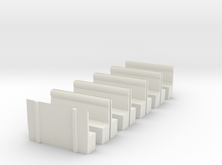 LCDR/SECR All 3rd - Seating 3d printed