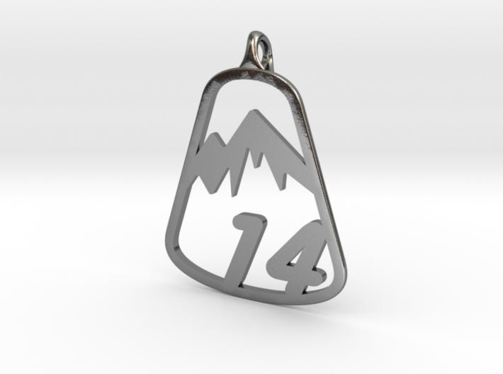 Classic 14er Pendant 3d printed