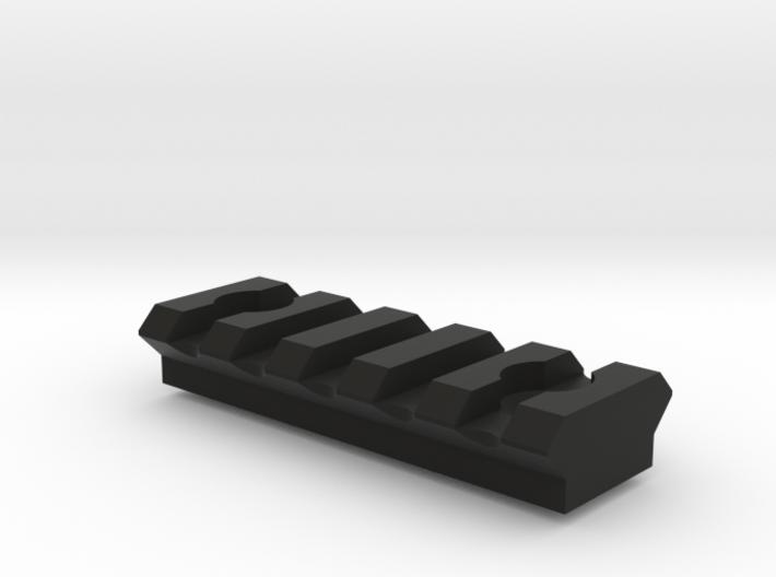 5 slot Keymod Picatinny rail 3d printed