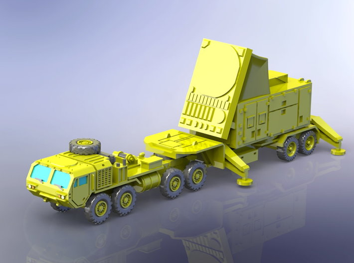 US Patriot MIM 104 AN/MPQ-53/65 Radar 1/285 3d printed