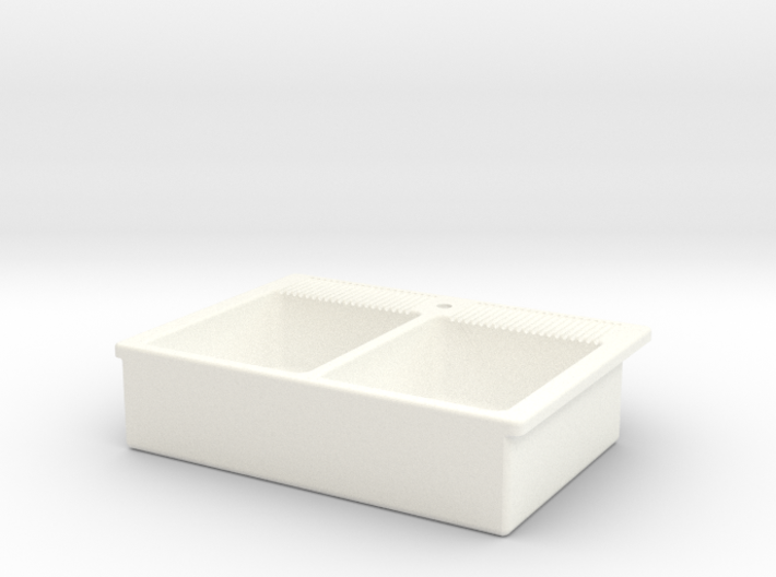 Miniature Doll House Kitchen Sink A, 1:12 3d printed