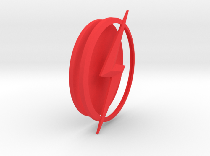 THE FLASH - Kid Flash Chest Emblem 3d printed