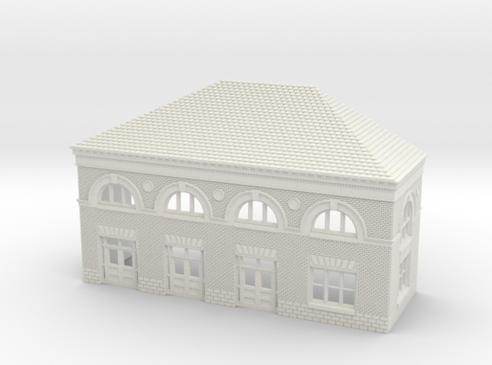 WILMINGTON STATION SOUTH C ROOF 3d printed