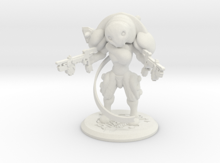 Mini Clem Figure warframe 3d printed