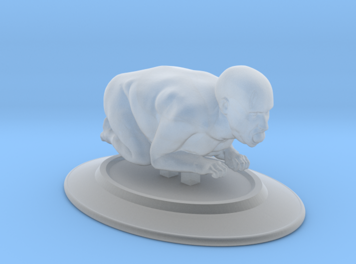 Roast Beast with Head and apple in mouth 3d printed