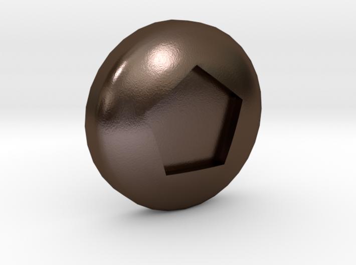 Pentagonal Ball - Supernova Soccer 3d printed