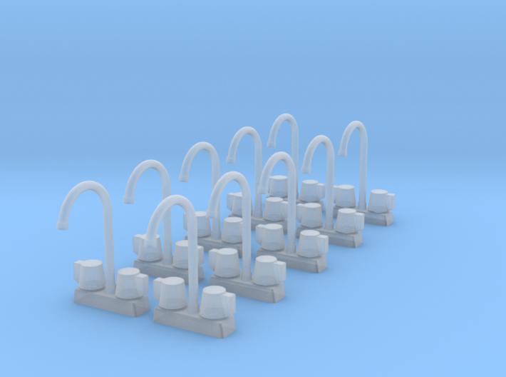 10 1:48 Commercial Faucet 3d printed